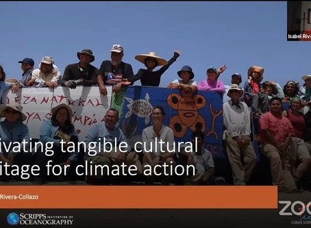 Activating Tangible Cultural Heritage for Climate Action