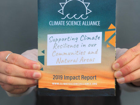 Celebrating the Stories That Connect Us: 2019 Climate Science Alliance Impact Report Now Available!