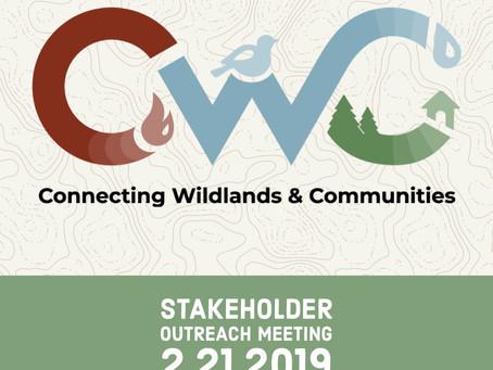 RSVP for Next Week's Connecting Wildlands & Communities Workshop!