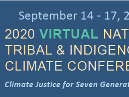 Climate Science Alliance Participated in National Tribal and Indigenous Climate Change Summit