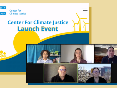 UC Launches Systemwide Center for Climate Justice