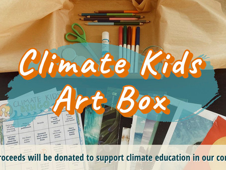 Climate Kids Art Boxes Are Here!