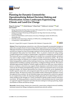 Publication: Planning for Dynamic Connectivity