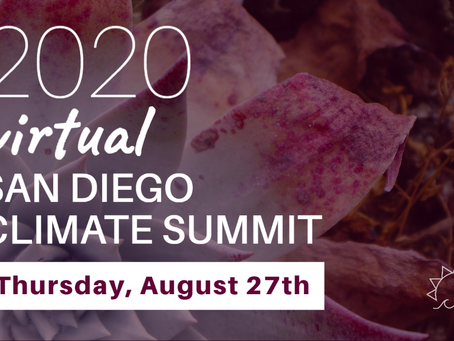 Now Accepting Applications for #SDClimateSummit