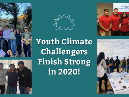 Youth Climate Challengers Finish Strong in 2020
