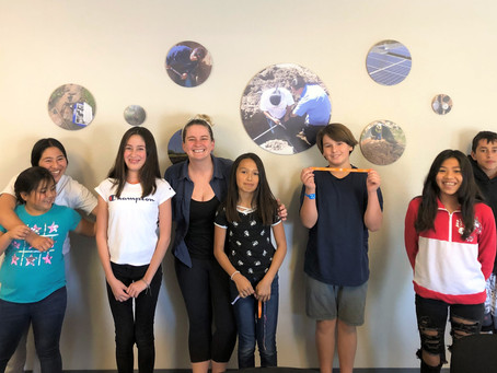 Climate Kids Work with the San Pasqual Tribal Wellness Ambassadors to Protect Their Environment