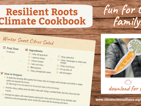 """Resilient Roots"" Climate Cookbook Available Now!"