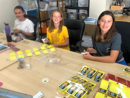 Climate Kids Volunteer to Help Build Traveling Trunks