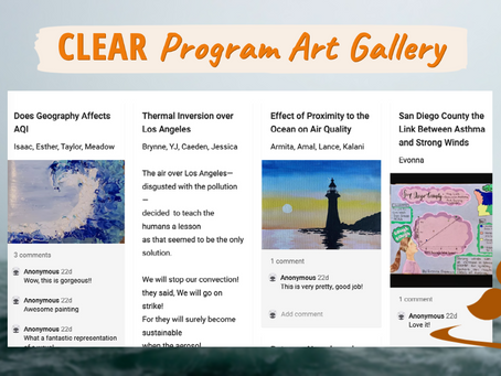 New Virtual Student Art Gallery Highlighting Climate Science and Aerosols