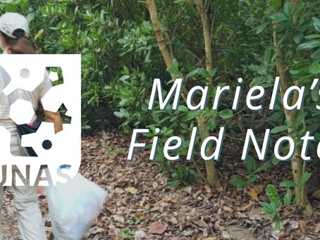 Mariela's Field Notes: Cierre mi viaje a Puerto Rico, unas palabras para los voluntarios