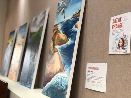 """""""Visualizing the Future"""" on Display at the Rancho Peñasquitos Library"""
