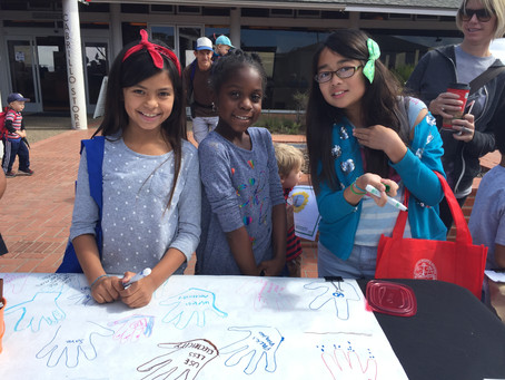 Climate Kids at Cabrillo's Bioblitz