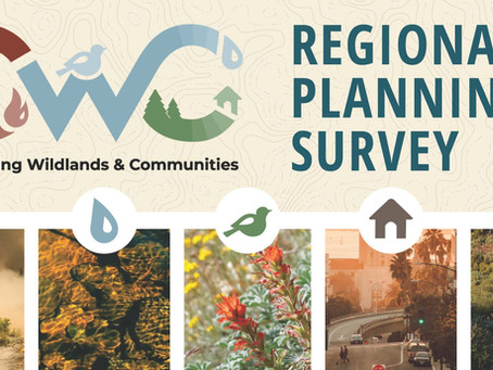 CWC Regional Planning Survey Results Available Now!