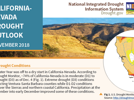 Resources Available for November California-Nevada Drought & Climate Outlook Webinar