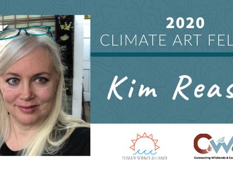 Kim Reasor Announced as 2020 Climate Art Fellow