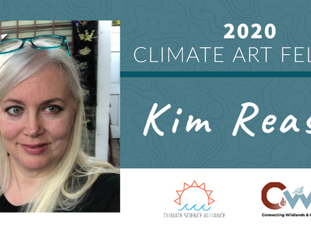 Kim Reasor Announced as 2020 Climate Art Fellow