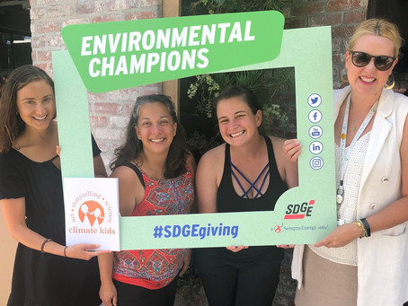 Climate Kids Program Receives SDG&E 2019 Environmental Champions Grant