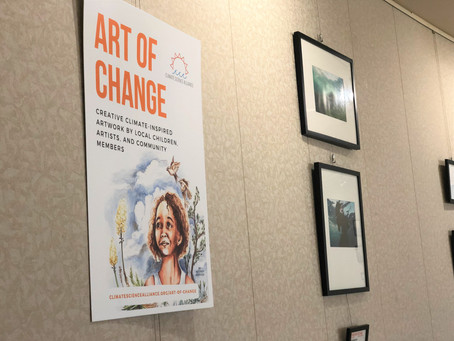 """Art of Change"" at Mission Valley Library through April!"