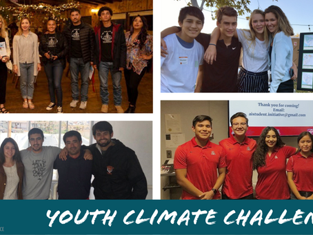 Youth Climate Challenge Team Update!