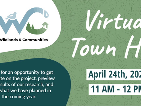 Join the Connecting Wildlands & Communities Team for Virtual Town Hall