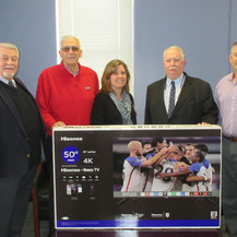 Hall of Fame Donates HDTV to Northport Veterans Administration