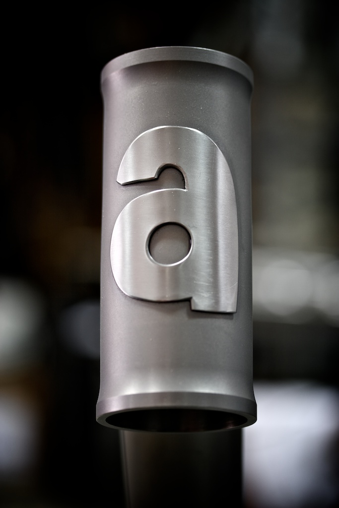 Head badge Stainless