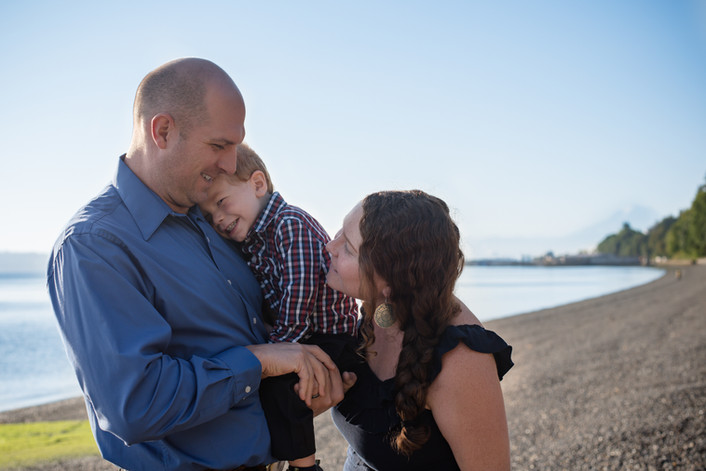 Family Session at the Beach