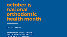 ⭐️October is Orthodontic Health Month⭐️