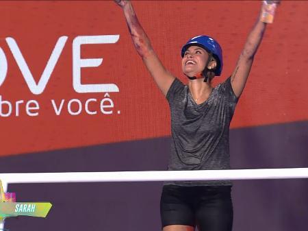 Sarah é a nova líder do Big Brother Brasil 21
