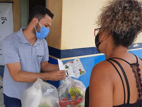 Em meio ao agravamento da pandemia, famílias da Amazônia recebem doações da PPA Solidariedade