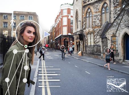 Real-time intent prediction of pedestrians for Autonomous Vehicles