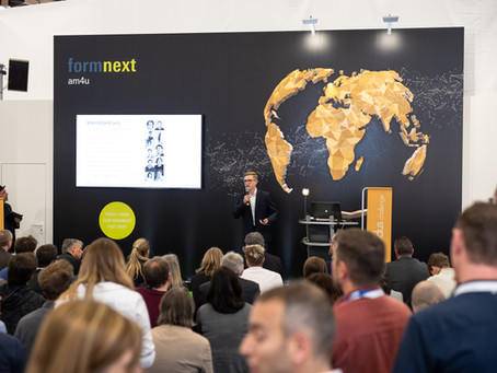 FORMNEXT 2019- TECHNOLOGY UPDATES AND NEW LAUNCHES