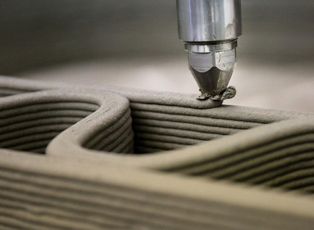 The next best thing in the construction industry: 3D printers and eco-friendly concrete.