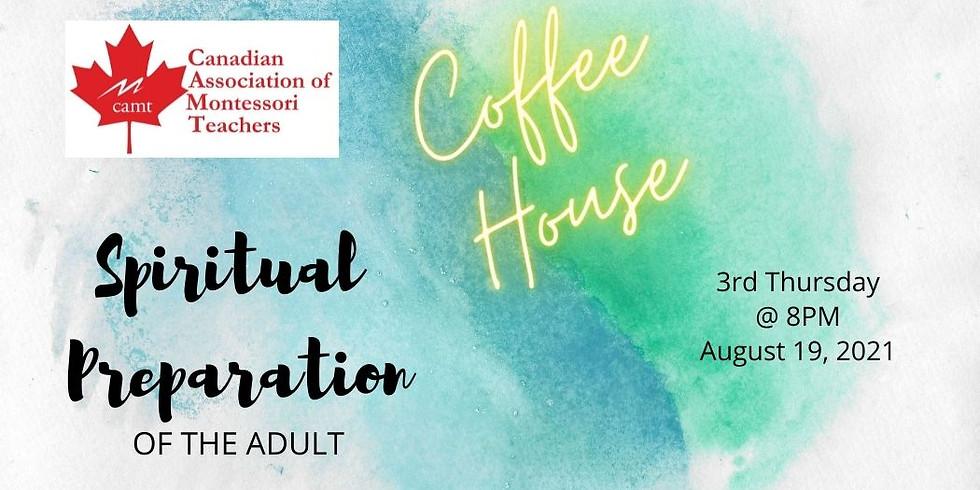 3rd Thursday CAMT Virtual Coffee House