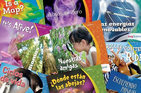 Libros de lectura inglés y español cop