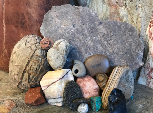 October Reflection by LuAnn Roberson -Among My Souvenirs
