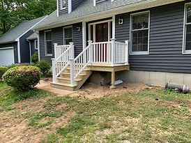 New Front Deck