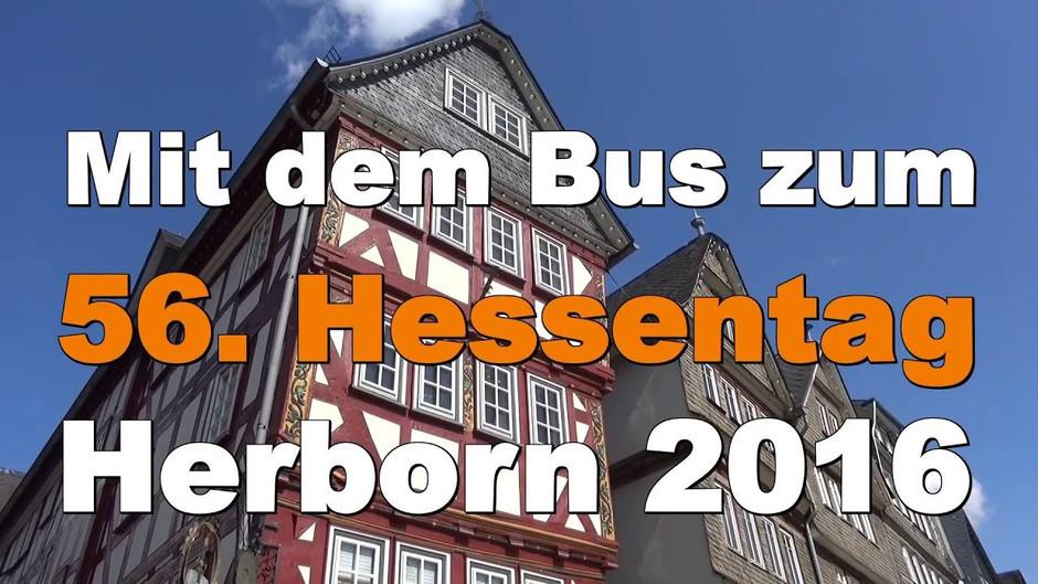 Busfahrer von Con Y Cam rocken den 56. Hessentag in Herborn