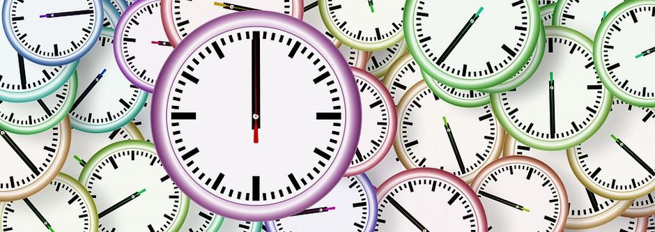 Horarios y pausas