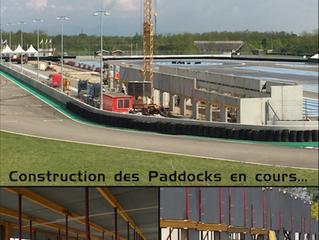 La construction des paddocks a démarré !