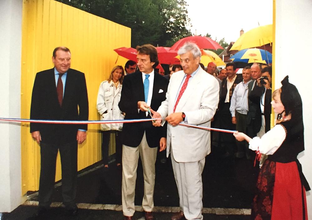 Inauguration de l'Anneau du Rhin en 1996