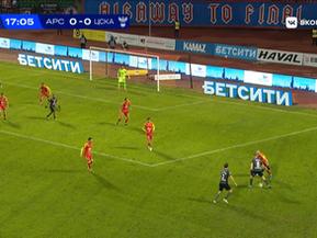 Рекламные 3D ковры на матчах четвертьфинала БЕТСИТИ Кубка России по футболу