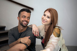 Gašper Rifelj in Eva Boto