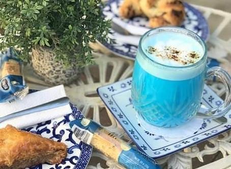 Blue Majic - Superfood Latte!!