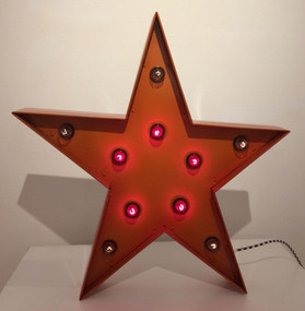 Copper Star w/ Blubs