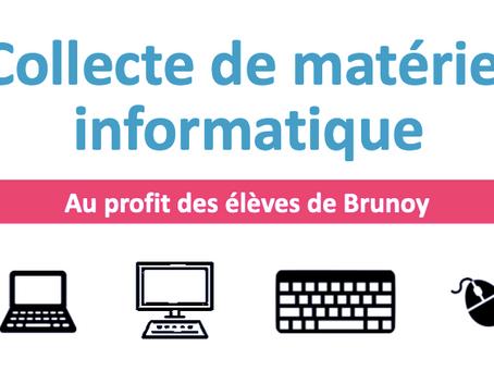 Reconditionnement de matériel informatique au profit des élèves de Brunoy