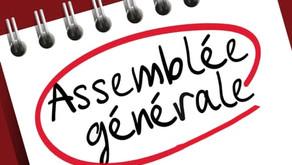 /!\ CE SOIR : Assemblée Générale - nouveau bureau, projets de l'année... Connectez-vous !