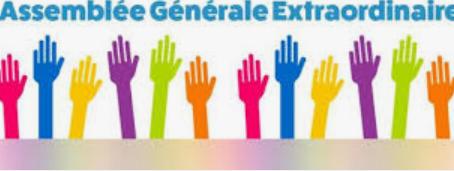 14 nov :  Assemblée Générale Extraordinaire, nouveaux statuts et règlement intérieur