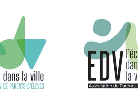 Nouveau logo EDV, à vous de voter !