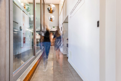 Office corridors